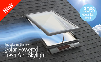 Residential Skylights Cleveland Oh Velux Fresh Air